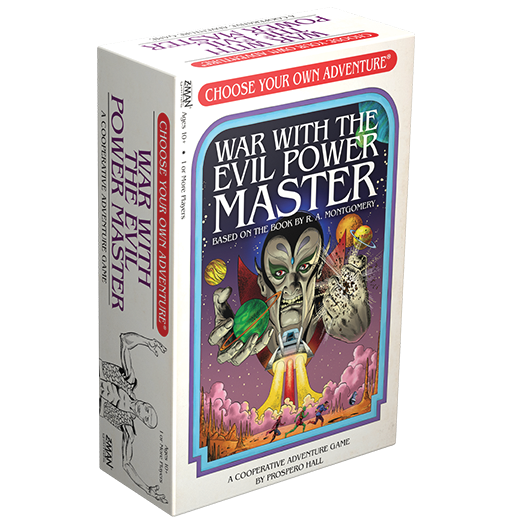 Choose Your Own Adventure: War with the Evil Power Master -  Z Man Games