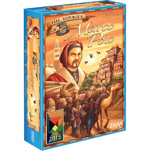 great fit good wholesale outlet The Voyages of Marco Polo   Z-MAN Games