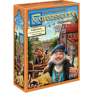 Abbey and Mayor: Carcassonne (T.O.S.) -  Z Man Games