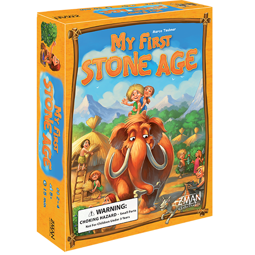 My First Stone Age (T.O.S.) -  Z Man Games