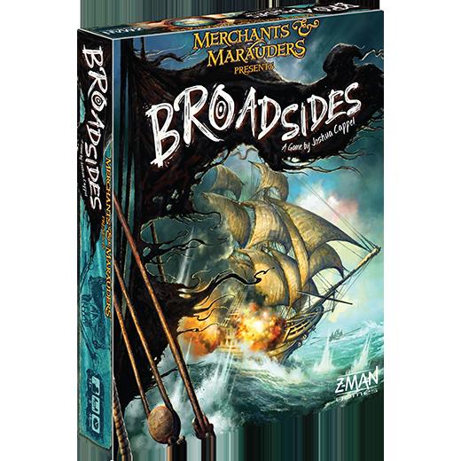 Merchants & Marauders: Broadsides | Z-MAN Games