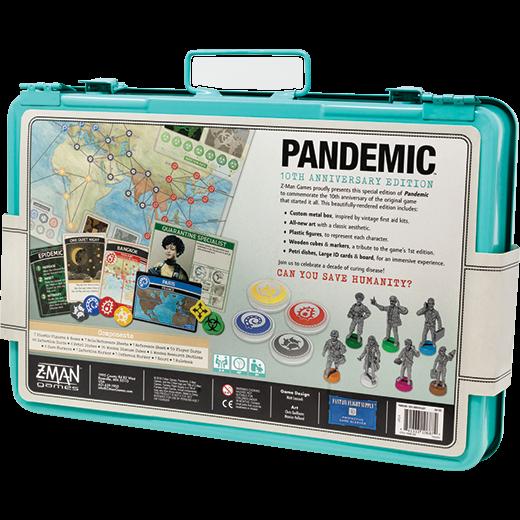 pandemic 10th anniversary edition bgg