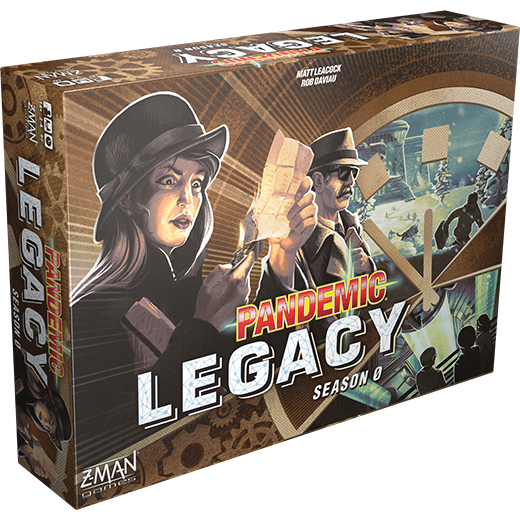 Season Zero: Pandemic Legacy -  Z Man Games